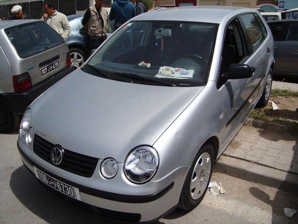 annonce de vente de voiture occasion en tunisie volkswagen polo tunis. Black Bedroom Furniture Sets. Home Design Ideas