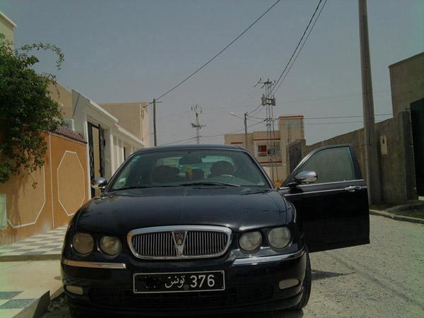 vente voiture occasion tunisie rover 75
