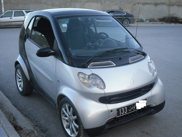 vente voiture occasion tunisie smart fortwo