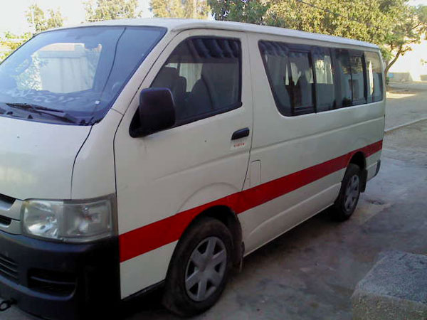 Toyota hiace occasion tunisie
