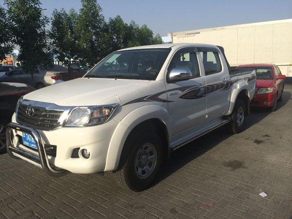 vente voiture occasion tunisie toyota hilux