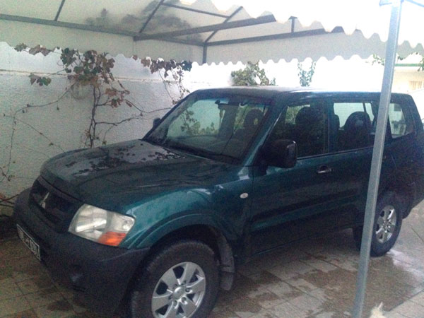 vente voiture occasion tunisie mitsubishi montero