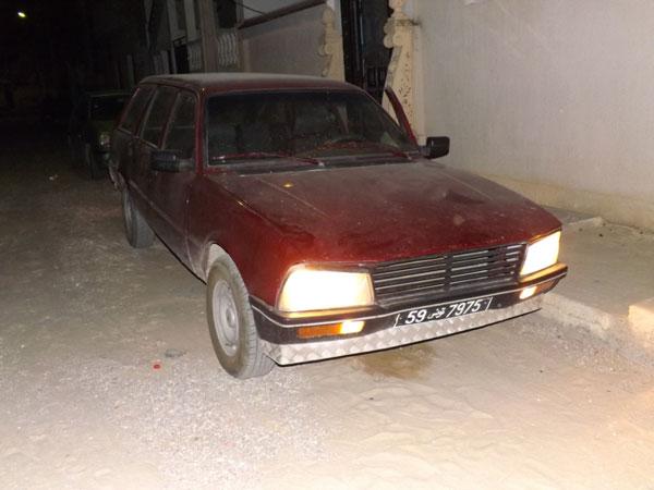 vente voiture occasion tunisie peugeot 505