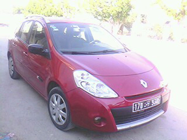 vente voiture occasion tunisie renault clio