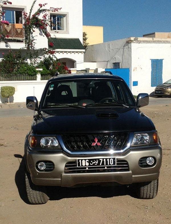 vente voiture occasion tunisie mitsubishi pajero