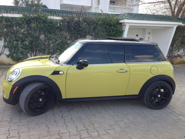 vente voiture occasion tunisie mini cooper. Black Bedroom Furniture Sets. Home Design Ideas