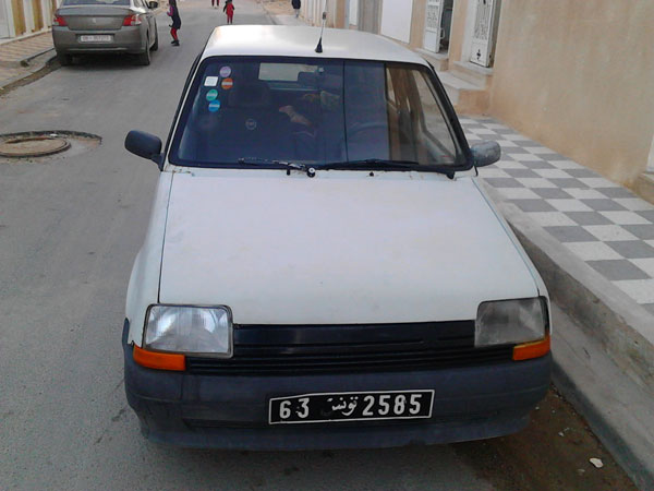 vente voiture occasion tunisie renault super 5