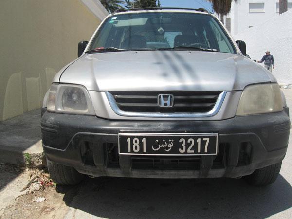 vente voiture occasion tunisie honda cr-v