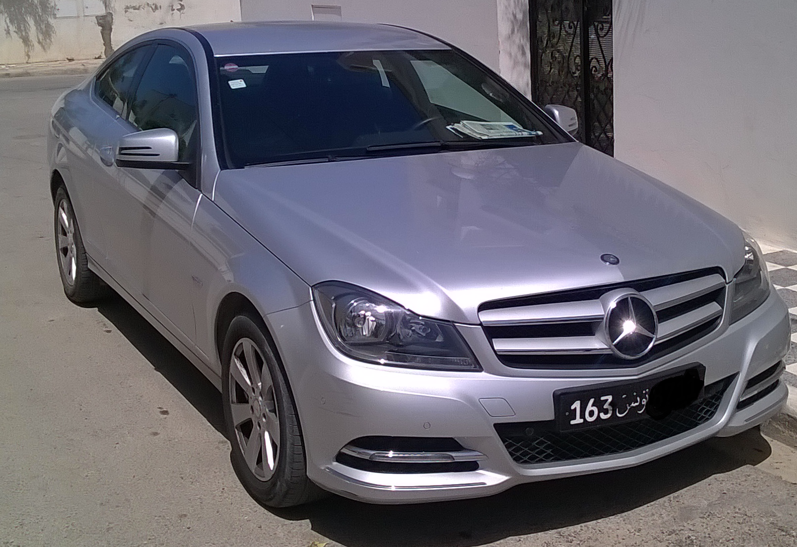 mercedes classe c rf150519220554 tunis prix 63000000 tnd 44000 km 12012 diesel automatique - C Tunisie