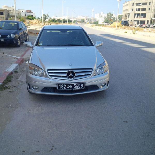 vente voiture occasion tunisie mercedes classe c