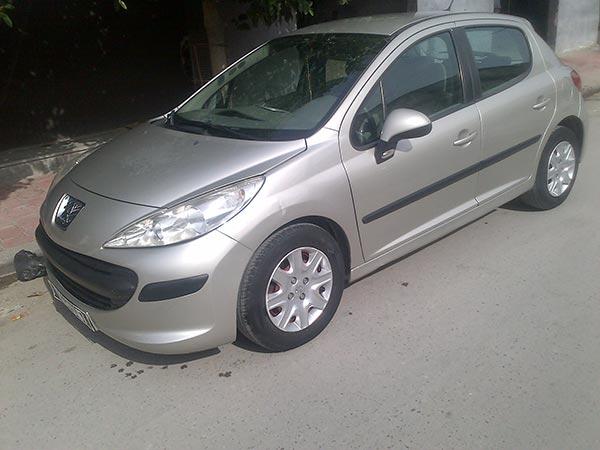 vente voiture occasion tunisie peugeot 207