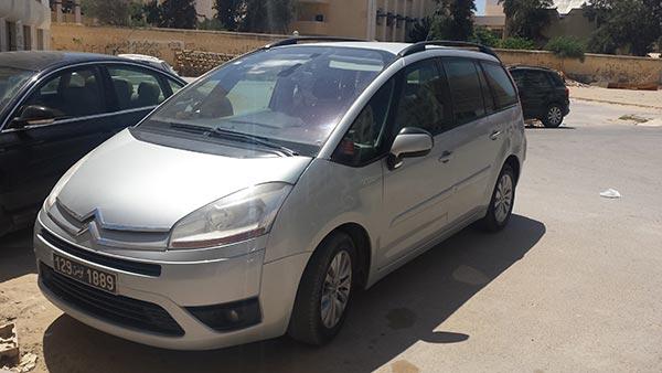 vente voiture occasion tunisie citroen c4 picasso