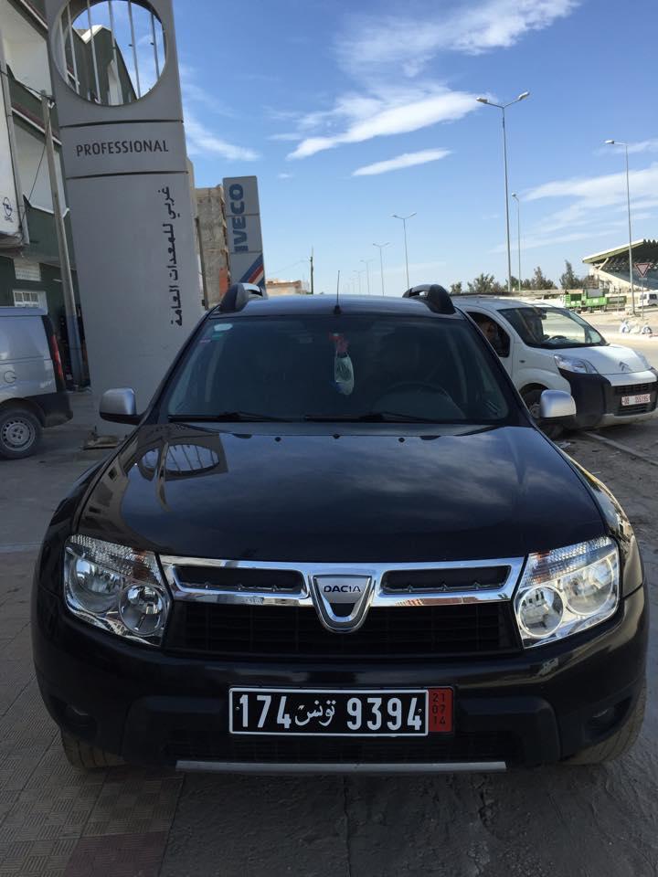vente voiture occasion tunisie dacia duster