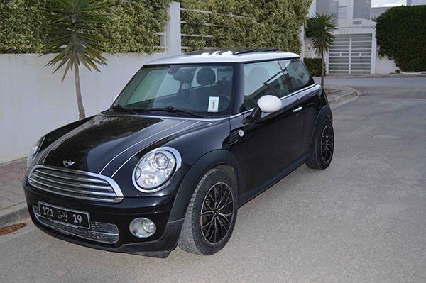 vente voiture occasion tunisie mini cooper