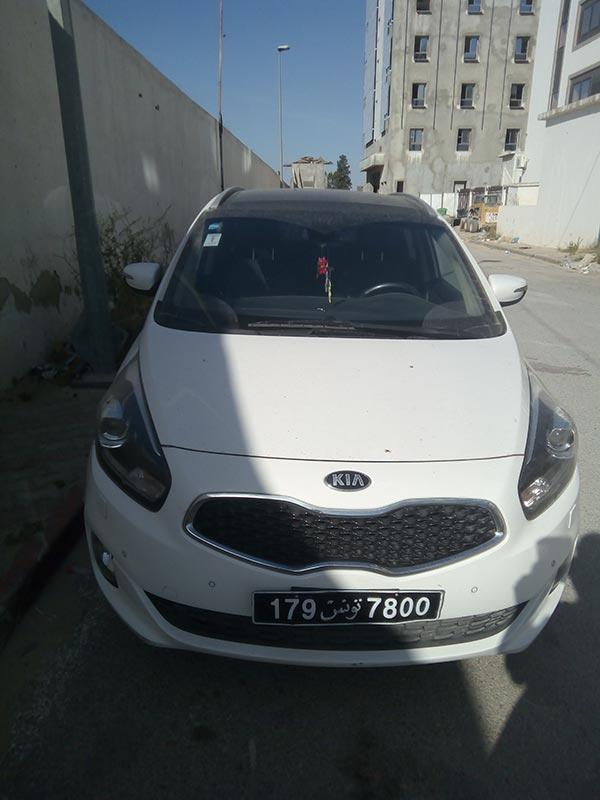 vente voiture occasion tunisie kia carens
