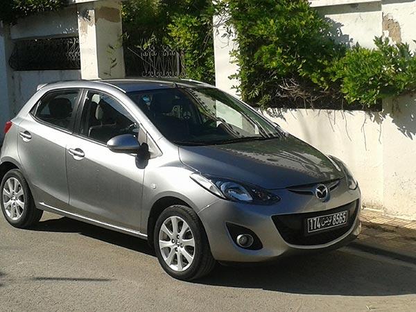 vente voiture occasion tunisie mazda 2