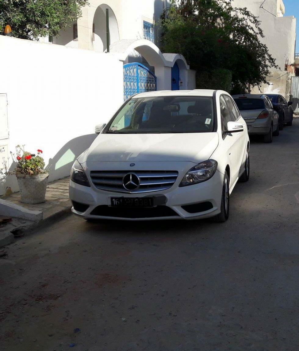 vente voiture occasion tunisie mercedes classe b