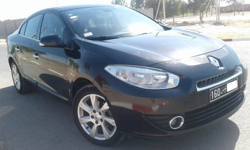 vente voiture occasion tunisie renault fluence