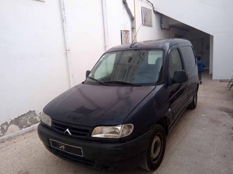 vente voiture occasion tunisie citroen berlingo van