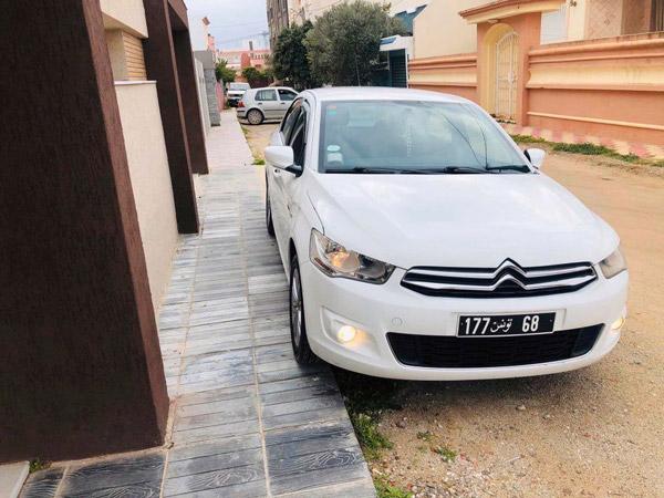 vente voiture occasion tunisie citroen c-elysée