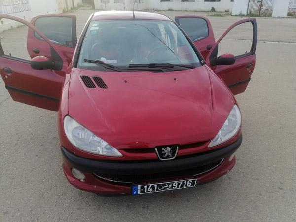 vente voiture occasion tunisie peugeot 206