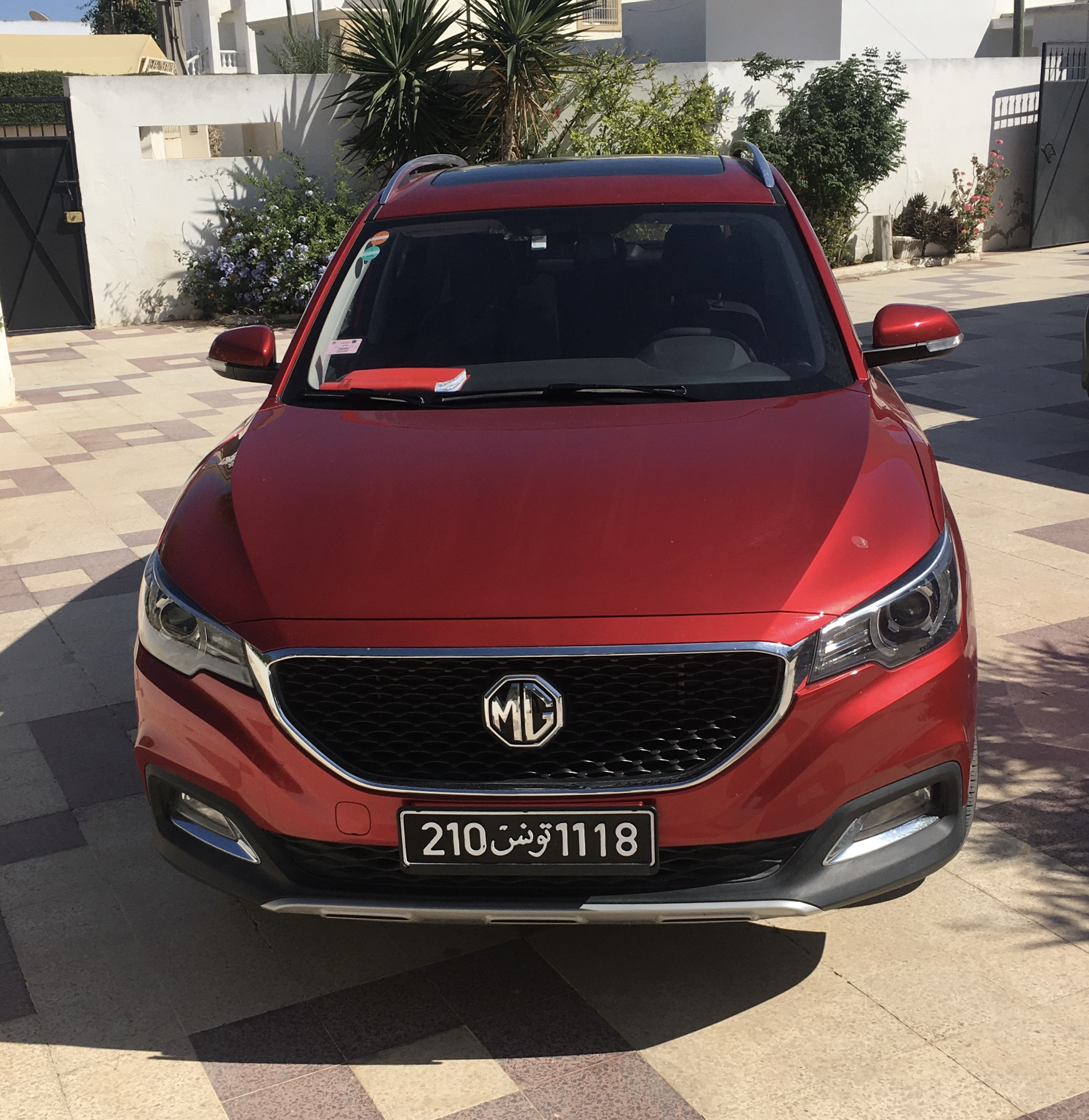 vente voiture occasion tunisie mg zs