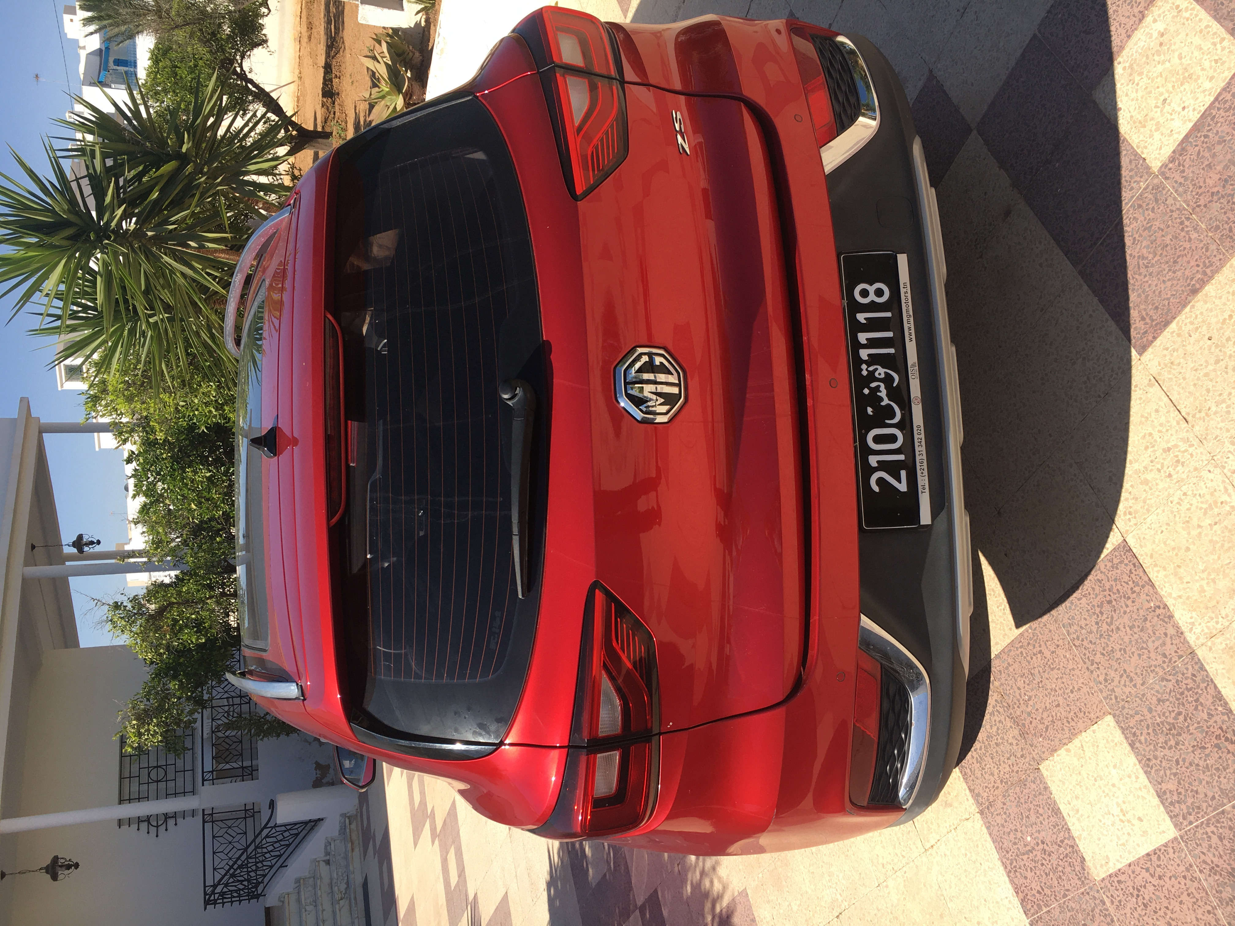 vente voiture occasion boite automatique tunisie mg zs