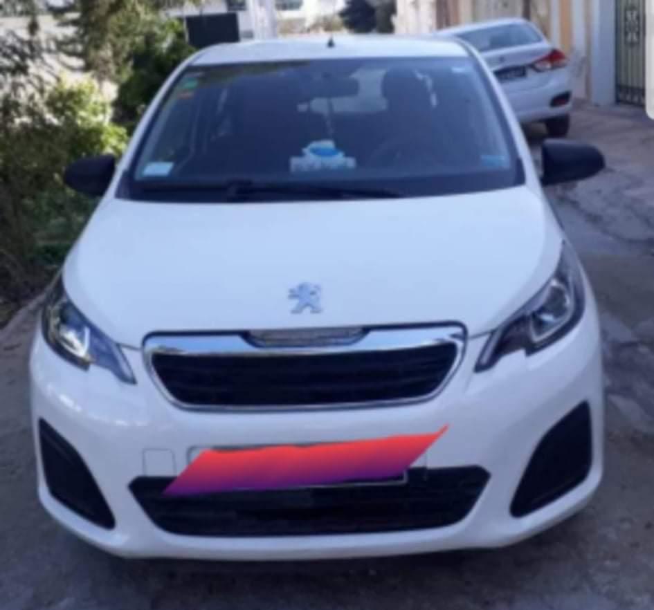 vente voiture occasion tunisie peugeot 107