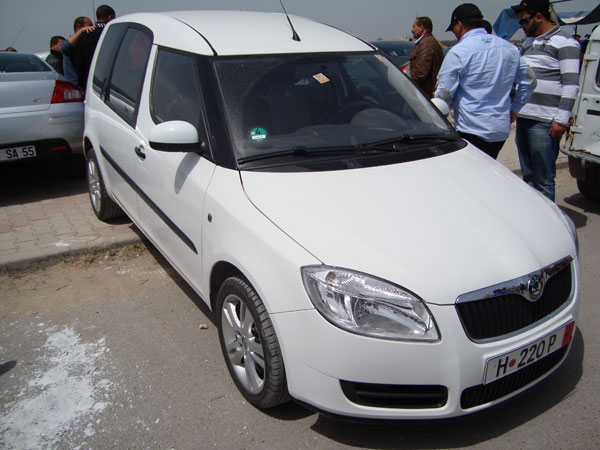 vente voiture occasion tunisie skoda fabia