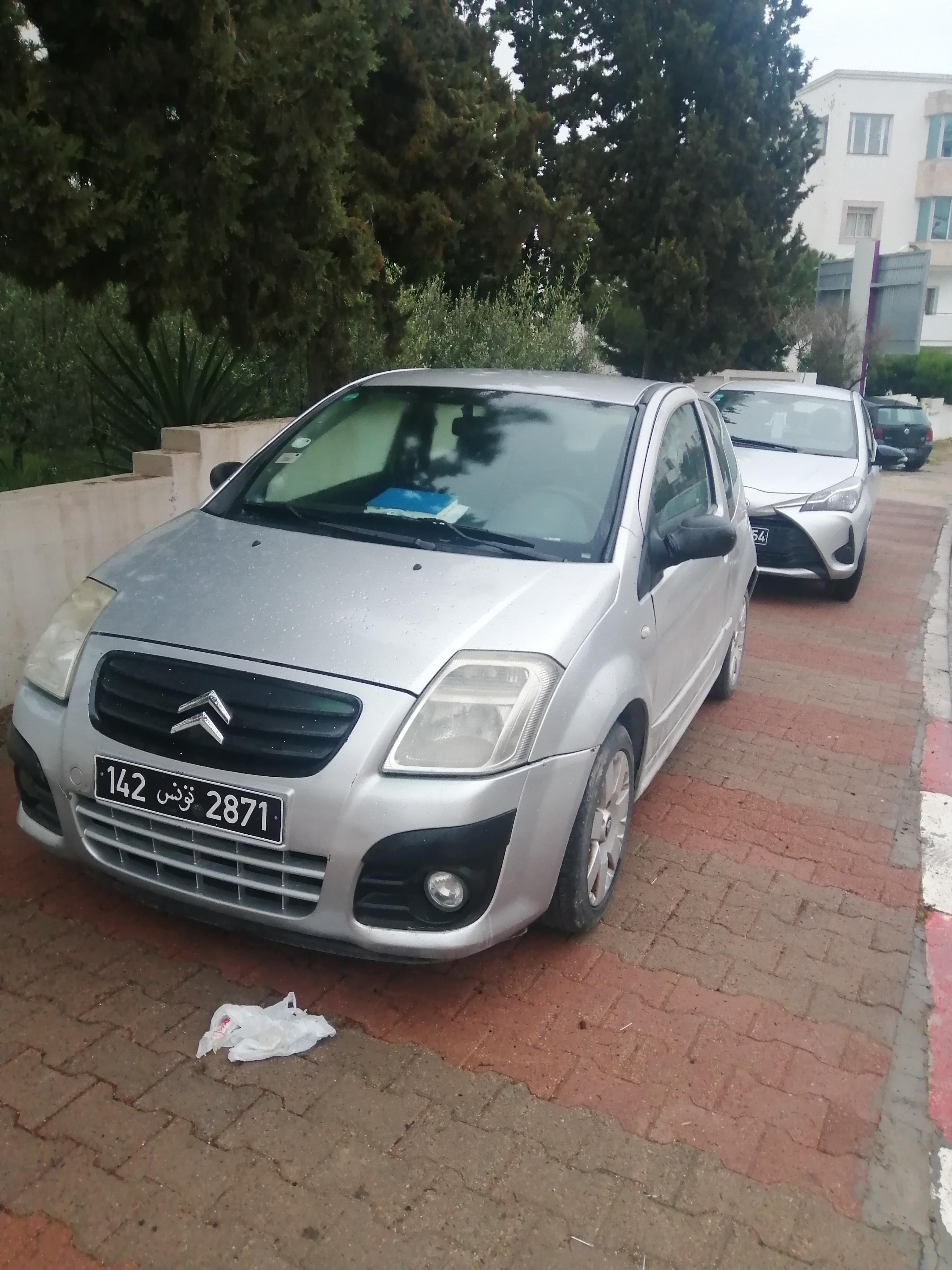 vente voiture occasion tunisie citroen c2
