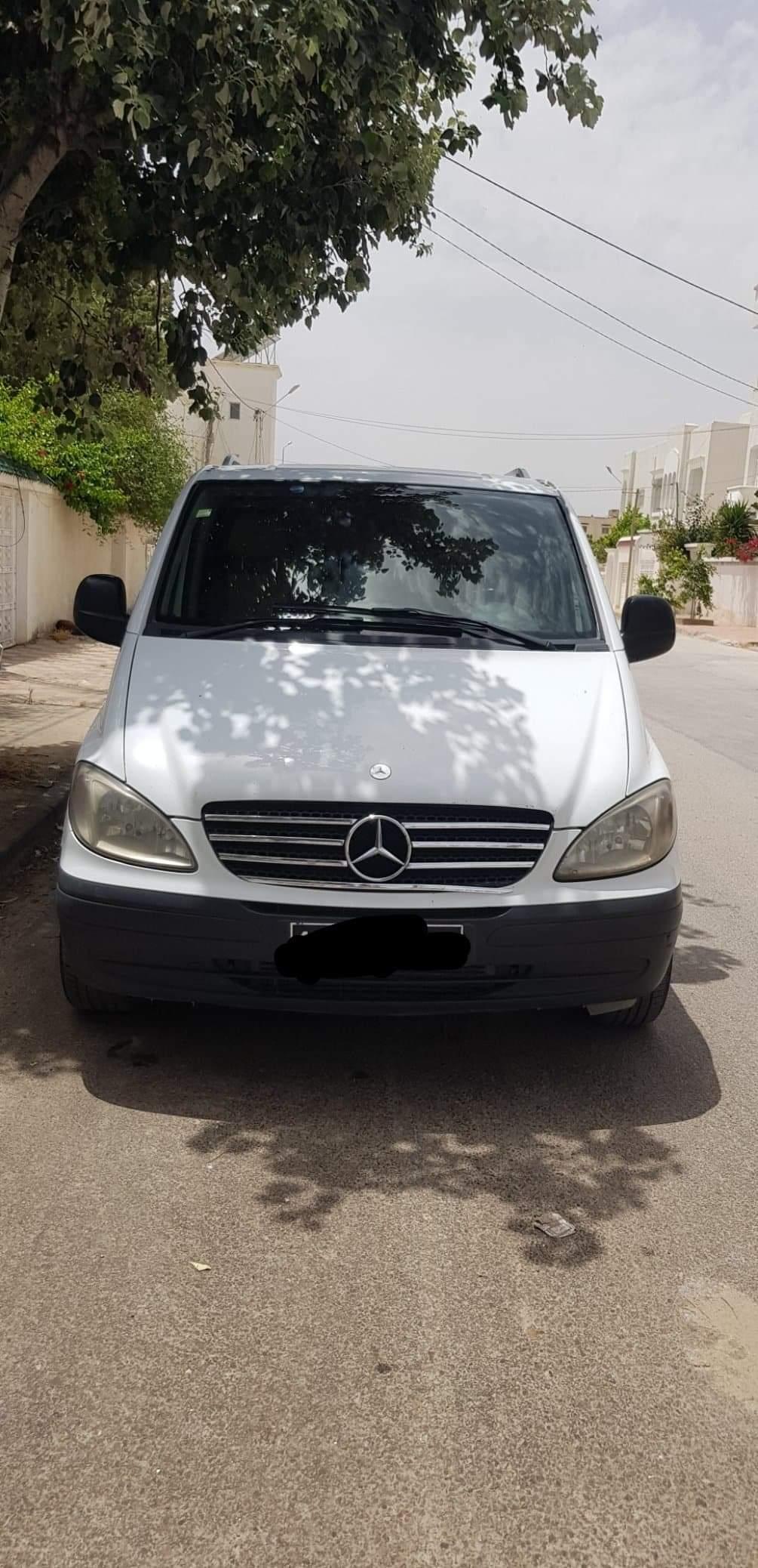 vente voiture occasion tunisie mercedes vito