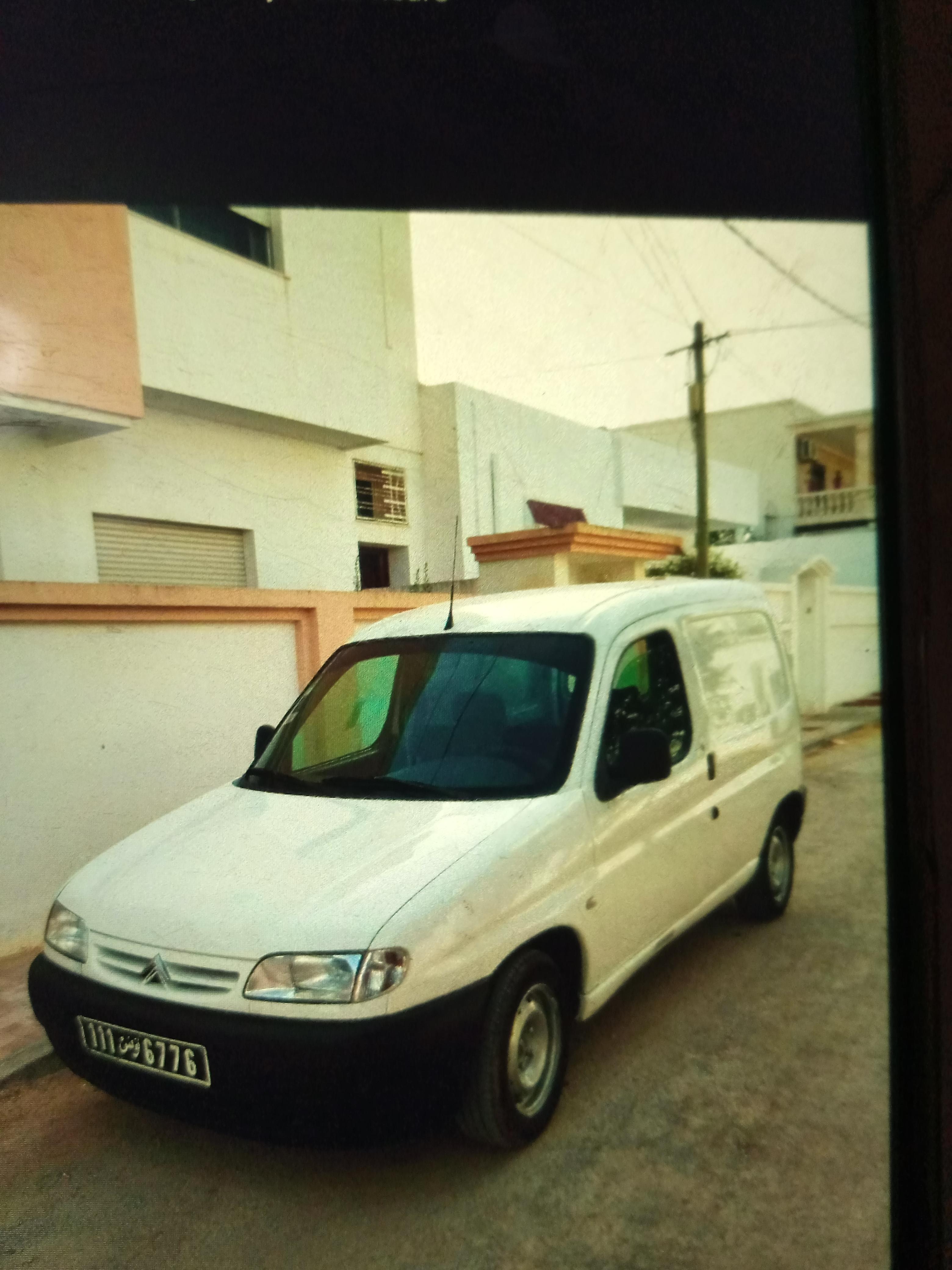 vente voiture occasion tunisie citroen berlingo van