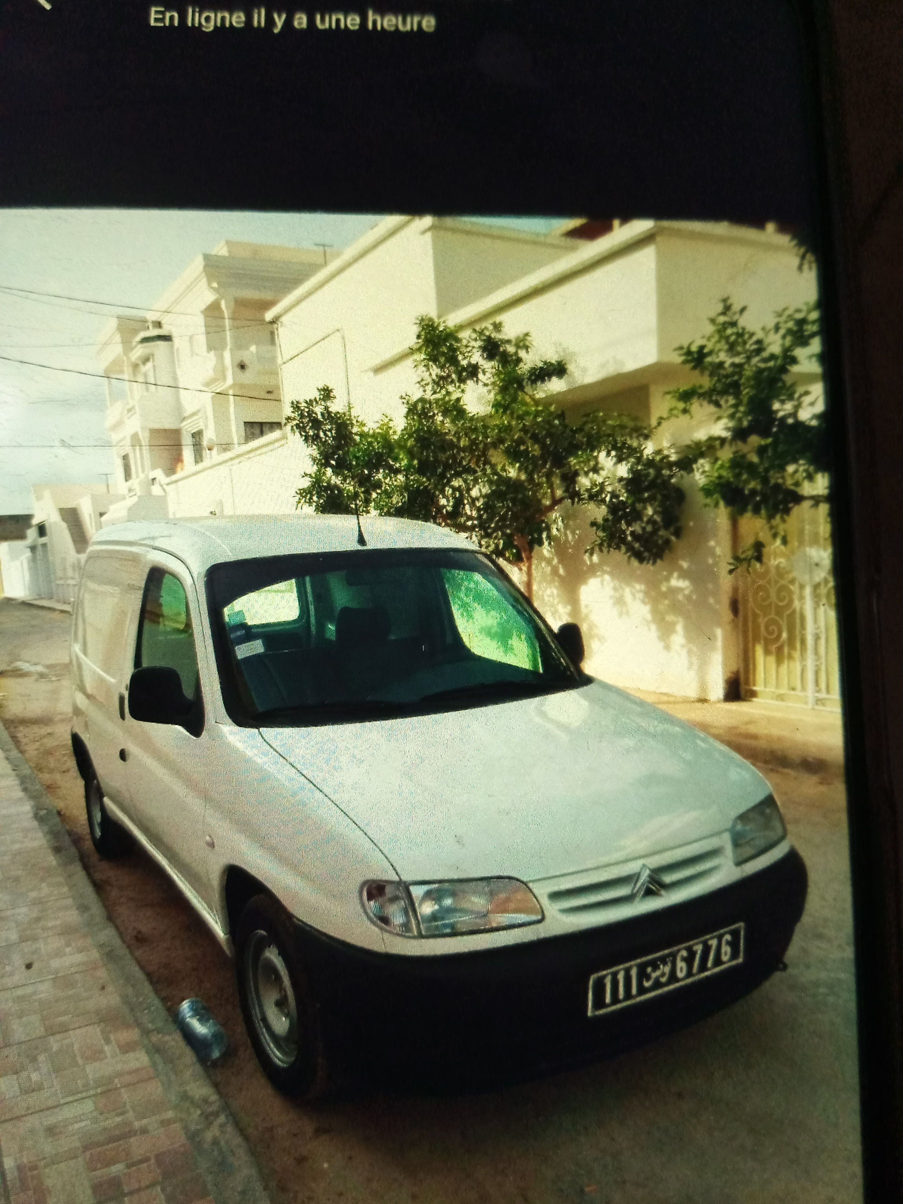 vente voiture occasion utilitaire tunisie citroen berlingo van
