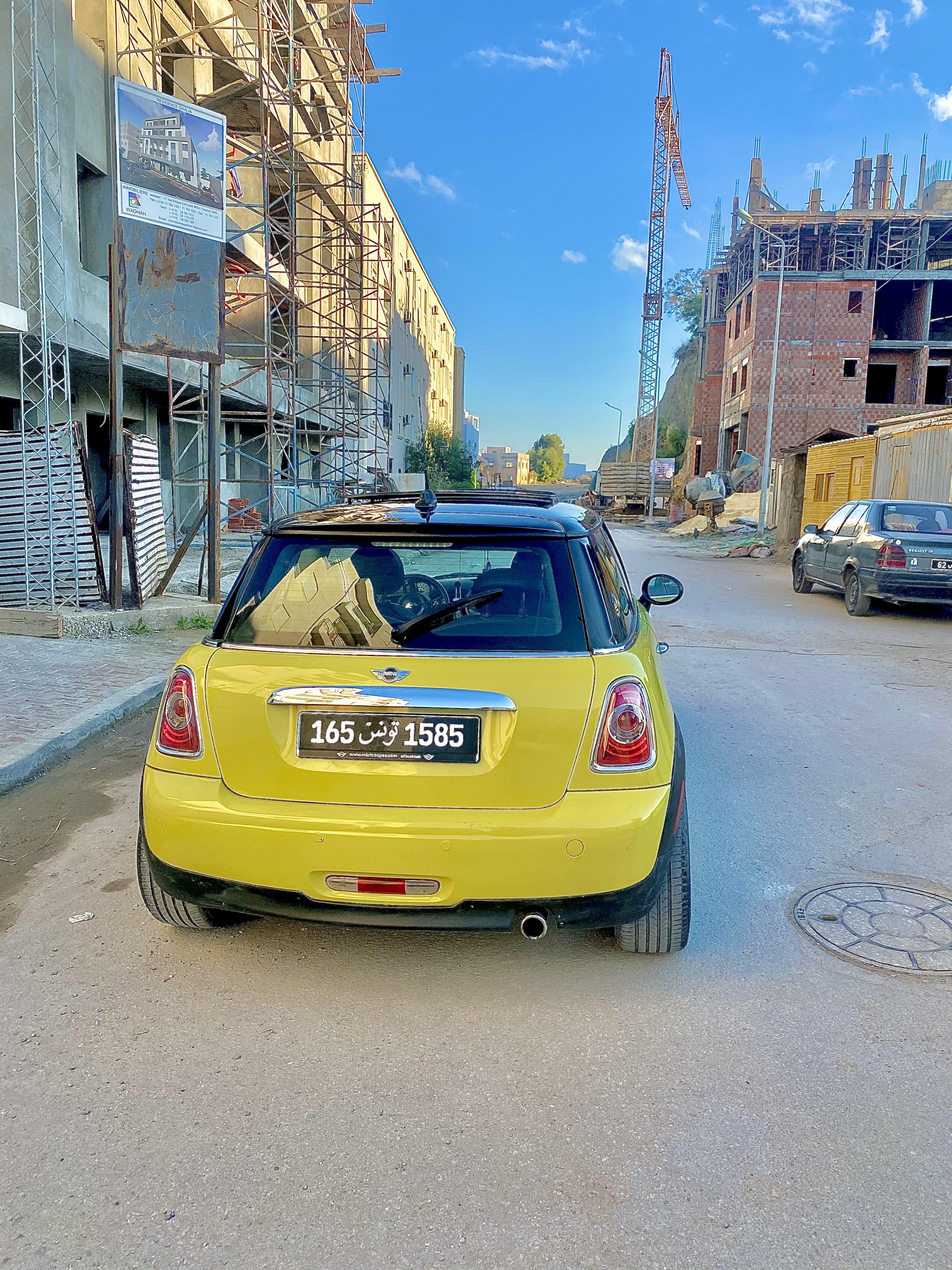 vente voiture occasion boite automatique tunisie mini cooper